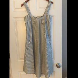Chaiken seersucker dress with pockets
